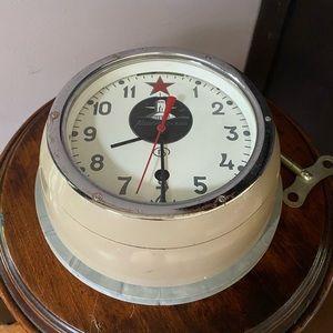 Vintage Russian/Soviet Navy Submarine Clock